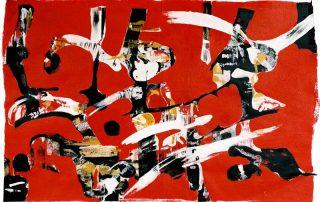 Odile Kopferschmitt 2002, composition lisible et rythmée.