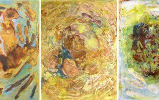 Peinture île, peintre explorateur. Cartographie imaginaire, topographie de hasard.