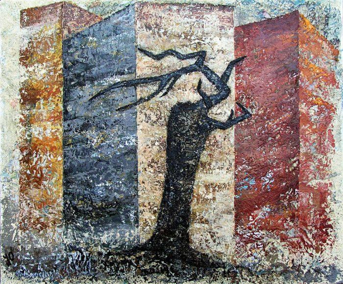 Jola Sidi 2009 - Téléphone arbre mort