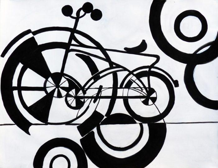 Jacqueline Putatti 2017 - Vélo n°220.2 - Dessin industriel