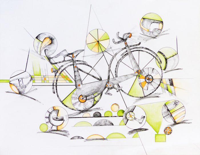 Marie Kresser-Verbois 2017 - Dessine-moi un vélo