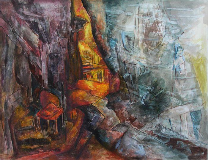 Ladin Sabras 2012 - Caverne sans ascenseur