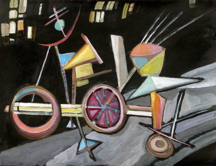 Ladin Sabras 2017 - Le vélo de Kandinsky