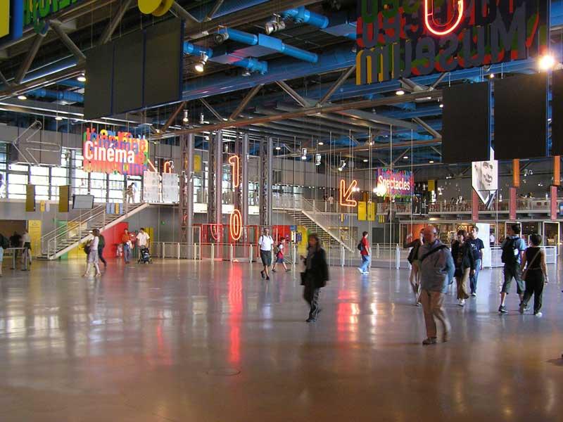 Forum du Centre Georges Pompidou, Paris, 2005.