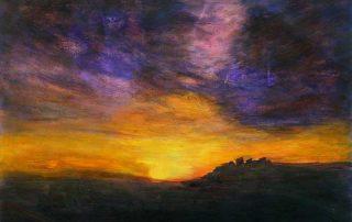 Oser peindre un coucher de soleil
