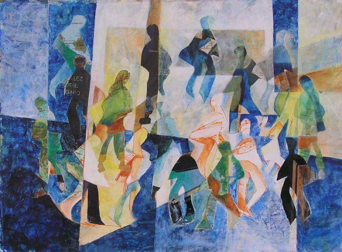 Agnès Le Dantec 2006 - De passage en biais sur l'Esplanade de La Défense (I)