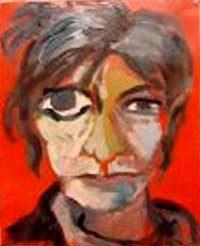 Sylvie Sciancalepore 2008 - Portrait - Acrylique sur papier