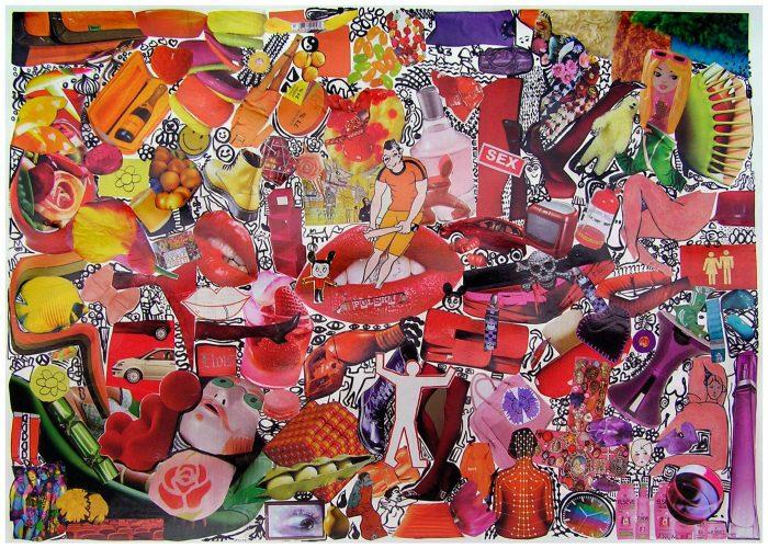Anum 2008 - Composition à partir de collages