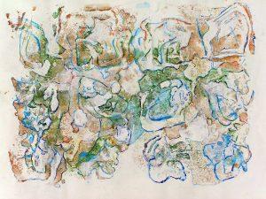 Geneviève Hily-Mane 2009 - Graines de peinture, première récolte (II)