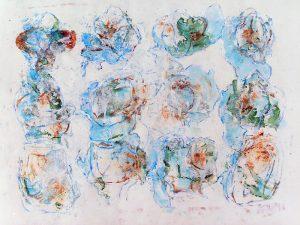 Geneviève Hily-Mane 2009 - Graines de peinture, première récolte (I)