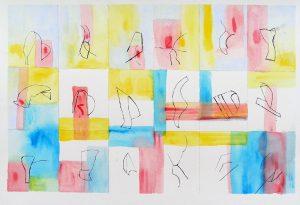 Janine Bailliez 2009 - Graines de peinture, première récolte.