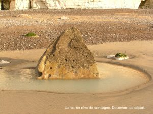 Le rocher rêve de montagne - Document de départ