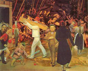 Balthus et Uccello - Le passage Saint-André et la bataille de San Romano