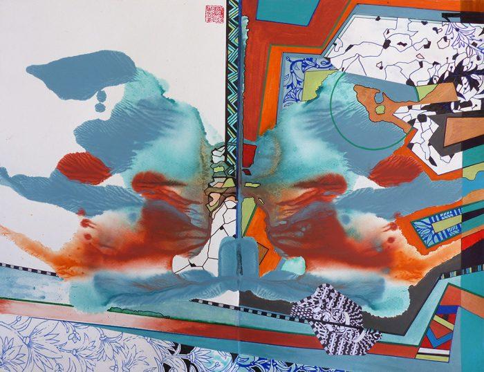 Marie Kresser-Verbois 2021 - Peinture en neuf mois n°9 (I)