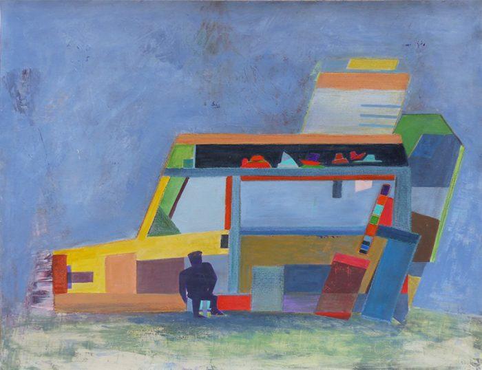 Mireille Vincent 2020 - Art ambulant (I) - Acrylique sur papier