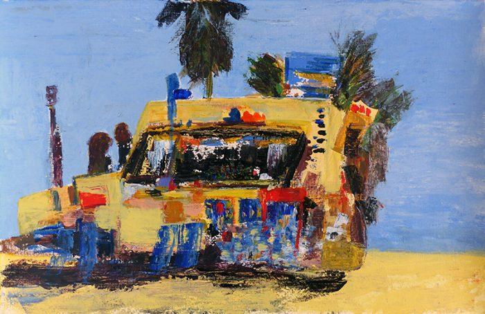 Mireille Vincent 2020 - Art ambulant (II) - Acrylique sur papier